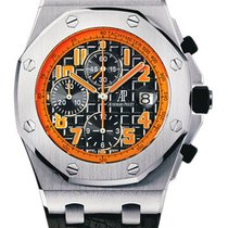 Audemars Piguet Royal Oak Offshore Chronograph Volcano Steel 42mm Orange Arabic numerals United States of America, New York, New York