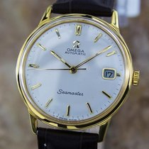 Omega Seamaster Cal 562 Swiss Made Automatic Gold Plated 1960s.