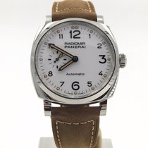 Panerai Radiomir 1940s 42mm White Automatic Complete Set...