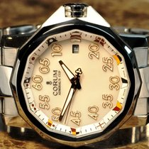 Corum Admiral's Cup Competition White MOP Dial