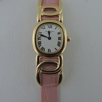 Patek Philippe Women's watch Golden Ellipse Quartz pre-owned Watch with original box and original papers 1997