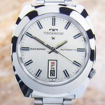 Technos Skysonic Mens Rare 1970s Automatic Vintage Swiss Made...