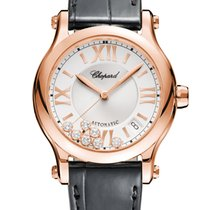 Chopard Happy Sport 274808-5001 Neuve Or rose 36mm Remontage automatique