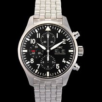 IWC Pilot Chronograph Steel Black United States of America, California, San Mateo