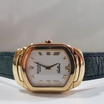 Rolex Cellini Geelgoud 24,5mm Wit