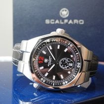 Scalfaro Steel 43mm Automatic pre-owned