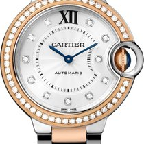 Cartier Ballon Bleu 33mm Gold/Steel 33mm Silver No numerals United States of America, New York, New York