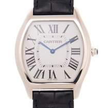 Cartier Tortue Or blanc 45mm Blanc