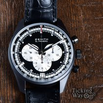 Zenith El Primero Chronomaster Ceramic 42mm Black No numerals United States of America, California, Irvine