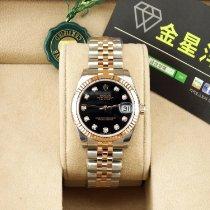 롤렉스,새 시계/미 사용,정품 박스 있음, 서류 원본 있음,31 mm,금/스틸