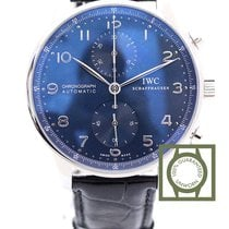 IWC Portuguese Chronograph nieuw 40.9mm Staal