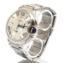 Cartier Ballon Bleu 44mm Steel 44mm Silver