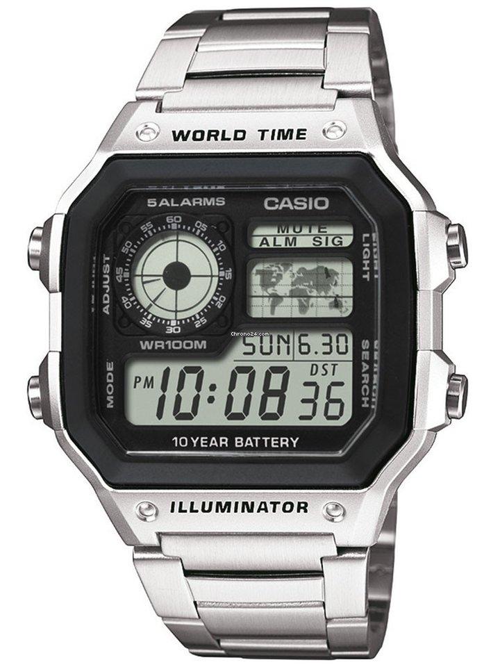 de8394387d34 Casio AE-1200WHD-1AVEF Collection 10ATM 42mm en venta por  45 por parte de  un Trusted Seller de Chrono24