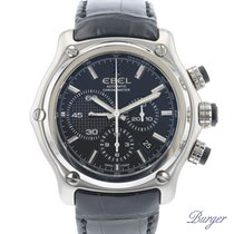 Ebel Steel 45.3mm Automatic 9137L72 pre-owned
