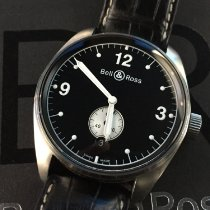 Bell & Ross pre-owned Automatic 41mm Black Sapphire Glass 10 ATM