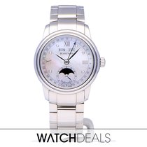 Blancpain Léman Moonphase Steel 34mm Mother of pearl Roman numerals
