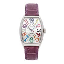 Franck Muller Color Dreams Acero 32mm Plata Árabes