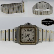 Cartier 1566 Gold/Steel Santos Galbée 29mm pre-owned United States of America, New York, Massapequa Park