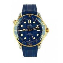 Omega Seamaster Diver 300 M Stahl 42mm Blau