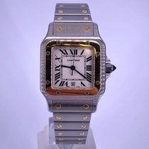Cartier Santos Galbée Gold/Steel 29mm White Roman numerals United States of America, California, Beverly Hills