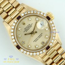 Rolex Datejust Yellow gold 26mm Champagne