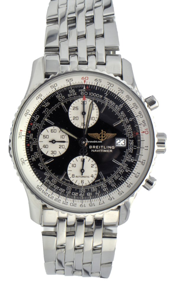 Breitling Navitimer Old Style Stainless Steel A13022