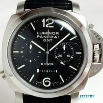 沛納海 Luminor 1950 8 Days Chrono Monopulsante GMT 鋼
