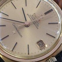 56770f20f44 Omega Constellation chronometer vintage 18k pink gold