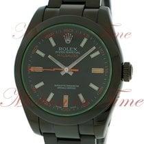 Rolex Milgauss 116400V Black PVD/DLC pre-owned