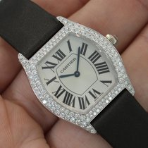 "Cartier ""privee Collection"" Ladies Tortue 18k White..."