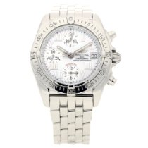 Breitling Chrono Cockpit Steel 39mm Mother of pearl Roman numerals