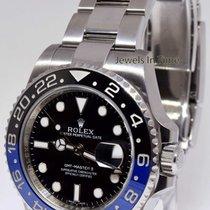 Rolex GMT-Master II Black/Blue Mens Ceramic Steel Box/Papers...