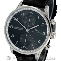 IWC Portuguese Chronograph White gold 40.9mm Grey