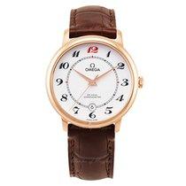 Omega De Ville Prestige новые Автоподзавод Часы с оригинальными документами и коробкой 424.53.40.20.04.005