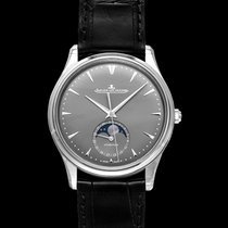 Jaeger-LeCoultre White gold Automatic Grey 39mm new Master Ultra Thin Moon