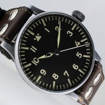 Wempe 55mm Manual winding 1939 pre-owned Black