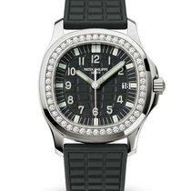 Patek Philippe Aquanaut Steel 35.6mm Black Arabic numerals