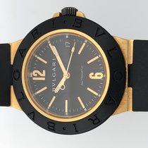 불가리 訳あり品 ブルガリ AL38G 金無垢 自動巻 メンズ 腕時計