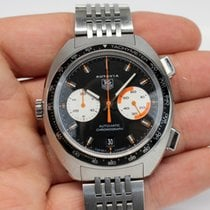 TAG Heuer Autavia Steel 42mm Black United States of America, Massachusetts, West Boylston