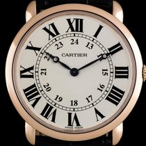 Cartier Ronde Louis Cartier Rose gold 36mm Silver Roman numerals United Kingdom, London