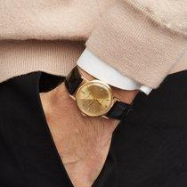 Rolex Oyster Precision Жёлтое золото 34mm Цвета шампань
