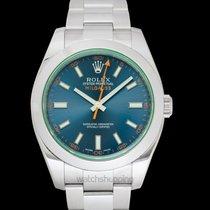 Rolex Milgauss Steel 40mm Blue United States of America, California, San Mateo