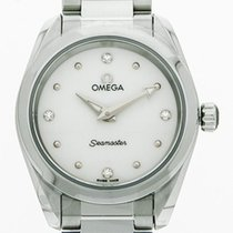 Omega Seamaster Aqua Terra Staal 28mm Wit