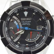 Seiko Velatura Kinetic Direct Drive tweedehands 42mm Staal