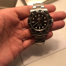 Rolex Ceramic Automatic 40mm pre-owned Submariner (No Date)