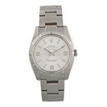 Rolex Air King Steel 34mm Silver United States of America, New York, New York