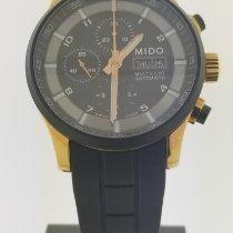 Mido Multifort Chronograph Stahl 44mm Schwarz Keine Ziffern
