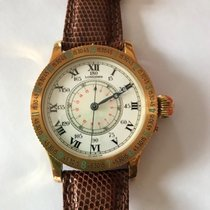 Longines Yellow gold Manual winding 47mm new Lindbergh Hour Angle