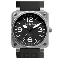 Bell & Ross BR 01-92 new Automatic Watch only BR0192-BL-ST