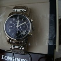 Longines Saint-Imier Steel 39mm Black Arabic numerals